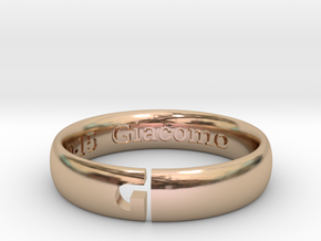 FEDE E - II in 14k Rose Gold