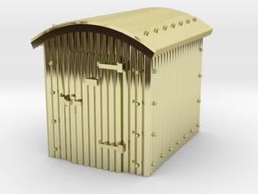 N Gauge - Great Western Railway Lamp Hut in 18K Gold Plated