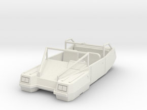 DW07 282G Axis Recon Car in White Natural Versatile Plastic