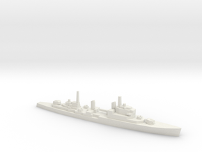 HMS Tiger CA, 1/2400 in White Natural Versatile Plastic