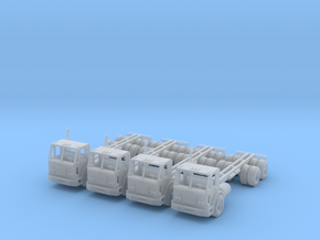 Peterbilt 320 Long Bed N Scale in Smooth Fine Detail Plastic