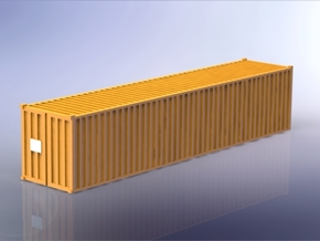 Container 40ft Standard 1/350 in Frosted Ultra Detail