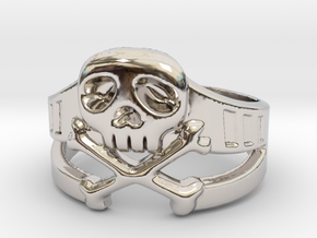 Space Captain Harlock | Ring size 10 in Platinum: 10 / 61.5