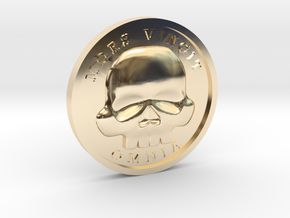 The Coin of Acheron in 14k Gold Plated Brass
