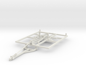 1/64 Weatherproofer disc ripper frame Part one of  in White Natural Versatile Plastic