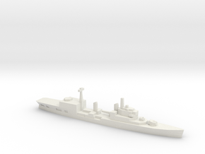 HMS Tiger Helicopter Cruiser, 1/2400 in White Natural Versatile Plastic