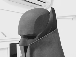 Custom Batman Cowl v2 in Black Natural Versatile Plastic