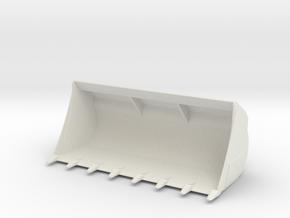 L Liebherr Heavy Shovel in White Natural Versatile Plastic