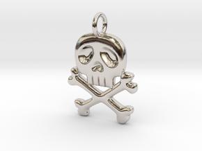 Space Captain Harlock | Pendant in Platinum