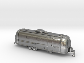 N Gauge - Classic American Trailer in Natural Silver