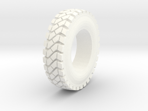 TIRE FOR CHARLIE in White Processed Versatile Plastic