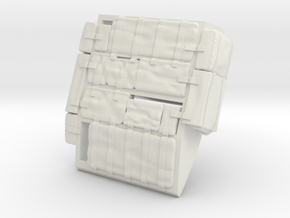 F15C-Right Bags in White Natural Versatile Plastic