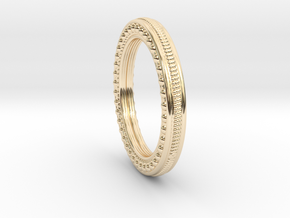 Lering Delta Size 5.5 in 14K Yellow Gold