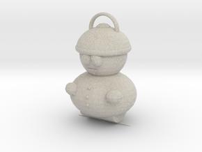 Cartman Pendant in Natural Sandstone