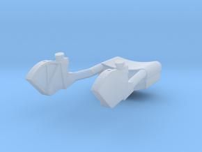F12A-Unfolded TTCA Armrest-CDR & LMP sides in Smooth Fine Detail Plastic