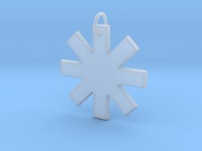 Creator Pendant in Smooth Fine Detail Plastic
