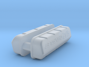 1/43 BBC 572 Logo Valve Covers in Smoothest Fine Detail Plastic