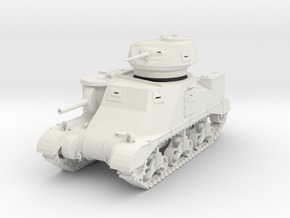 PV100A Grant I Cruiser Tank (28mm) in White Natural Versatile Plastic