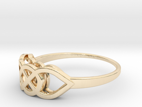 Size 6 Knot C2 in 14K Yellow Gold