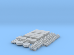 1/24 Scale scale shop acc'y set (Elec. & Plumb) in Smoothest Fine Detail Plastic
