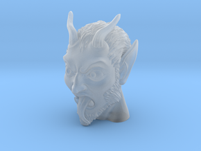 Krampus the Christmas Demon in Smooth Fine Detail Plastic