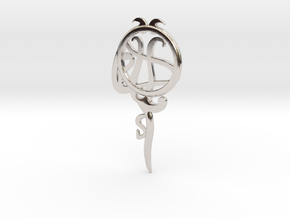 Pisces[Constellation Magic Series] - Key Style in Rhodium Plated Brass