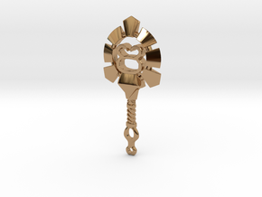 Taurus[Constellation Magic Series] - Key Style in Polished Brass