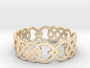 Size 6 Knot C3 in 14K Yellow Gold