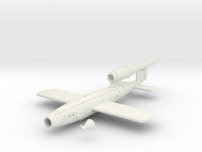 28mm/32mm V1 Rocket  in White Natural Versatile Plastic
