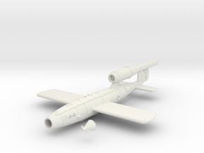 28mm/32mm V1 Rocket  in White Natural Versatile Plastic