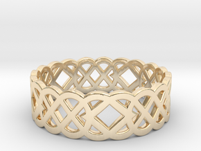 Size 6 Knot C4 in 14K Yellow Gold