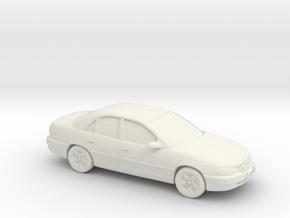 1/87 1996-01 Cadillac Catera in White Natural Versatile Plastic