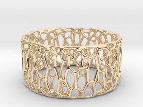 Frohr Design Easy Radiolaria Bracelet in 14k Gold Plated Brass