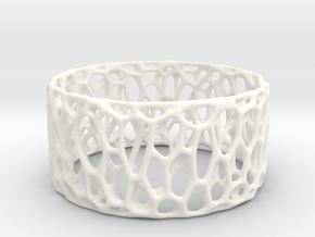 Frohr Design Easy Radiolaria Bracelet in White Processed Versatile Plastic