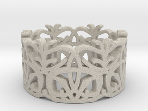 Circle Dance Lace Band - Size 7 in Natural Sandstone
