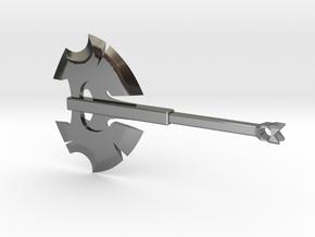 dota2 battlefury in Fine Detail Polished Silver
