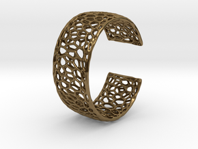 Frohr Design Radiolaria Bracelet Dec/02 in Polished Bronze