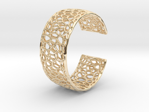 Frohr Design Radiolaria Bracelet Dec/02 in 14k Gold Plated Brass