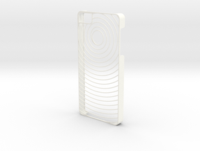 Spiral Iphone 5S case in White Processed Versatile Plastic