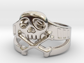 Space Captain Harlock | Ring Size 9 in Platinum: 9 / 59