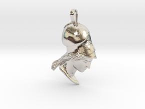 Athena of Velletri, pendant in Platinum