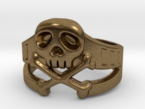 Space Captain Harlock | Ring Size 8 in Natural Bronze: 8 / 56.75