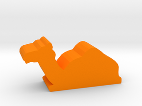 Game Piece, Camel, sitting in Orange Strong & Flexible Polished