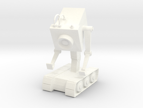 Rick's Butter Robot in White Strong & Flexible Polished