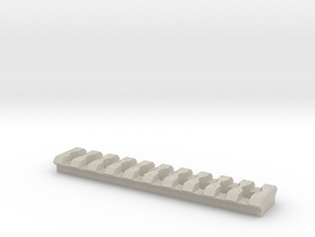 Freedom Arts G36 Mount Picatinny Rail in Natural Sandstone