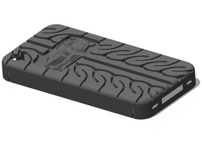 iPhone 4S Cadillac CTS AD08 tread in Black Strong & Flexible