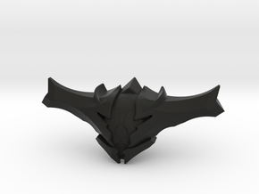 Oryx Head in Black Natural Versatile Plastic