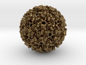 Chikungunya Virus in Polished Bronze