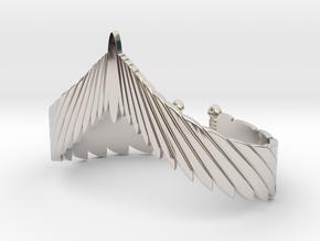 Falcon Wing Bracelet in Platinum