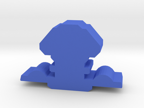Game Piece, Explorer Federation Space Station in Blue Processed Versatile Plastic
